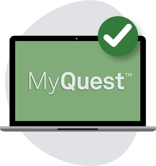 Results in MyQuest